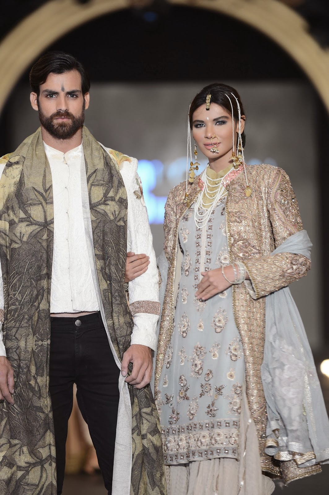 Fahad Hussayn's PFDC L'Oreal Bridal Week collection