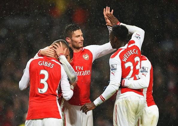 Arsenal 2 - 1 QPR