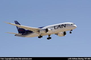 AVIÓN BOEING 787 CC-BBJ
