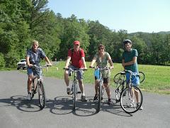 Toch nog fietsen in de Smokies (2011)