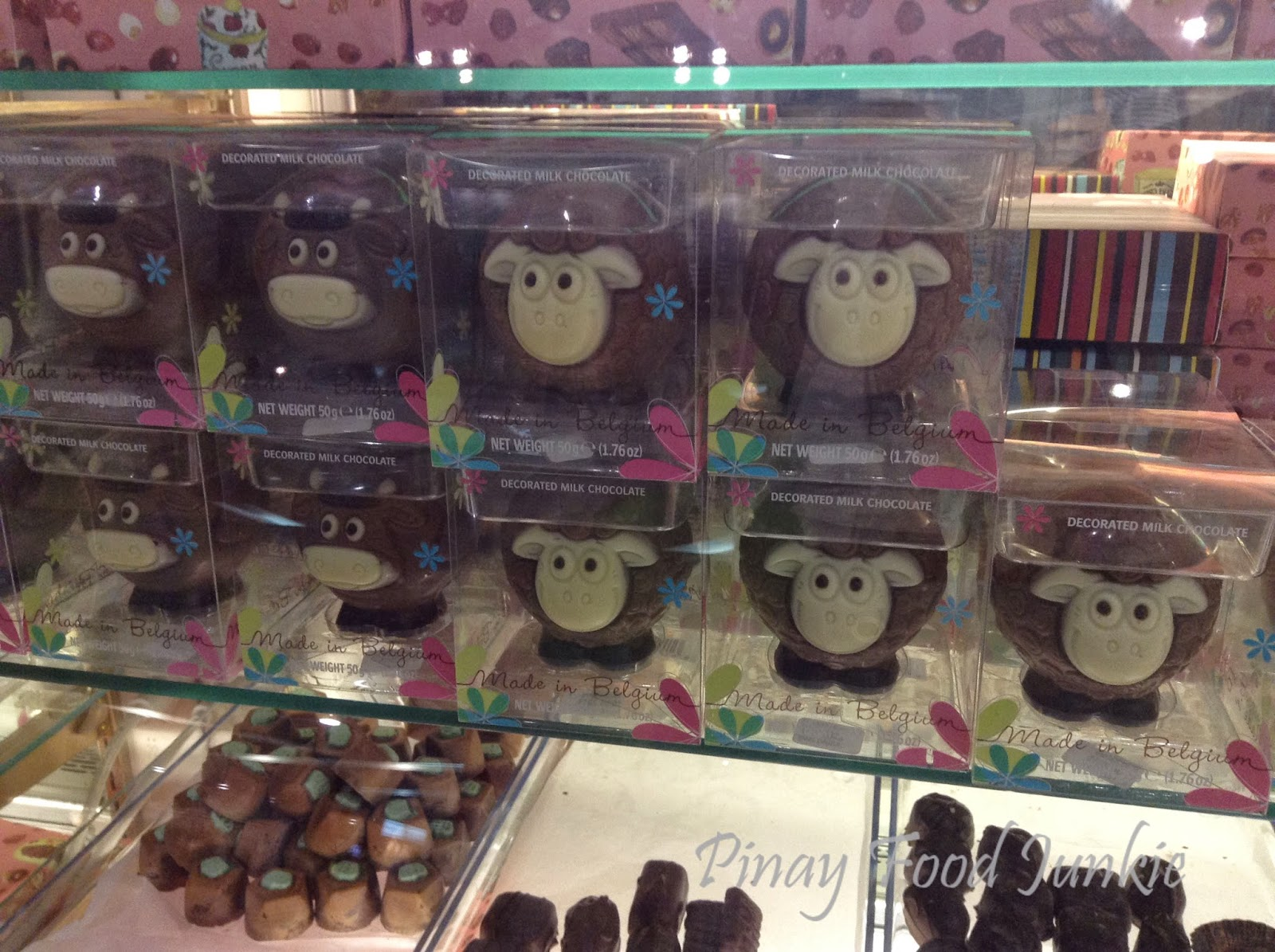 Chocolate Festival choco sheep