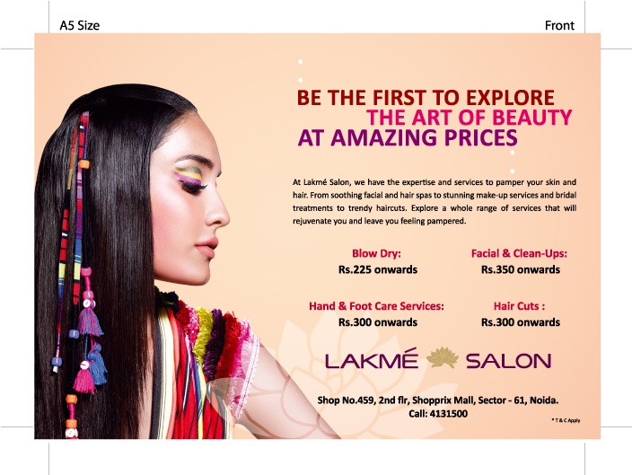 lakme salon Popular brands in the health and beauty lakme in bengaluru comes out with an exciting offer again check out the ongoing sale details and rush to nearest outlet of lakme in bengaluru and cash on it before the expiry date.