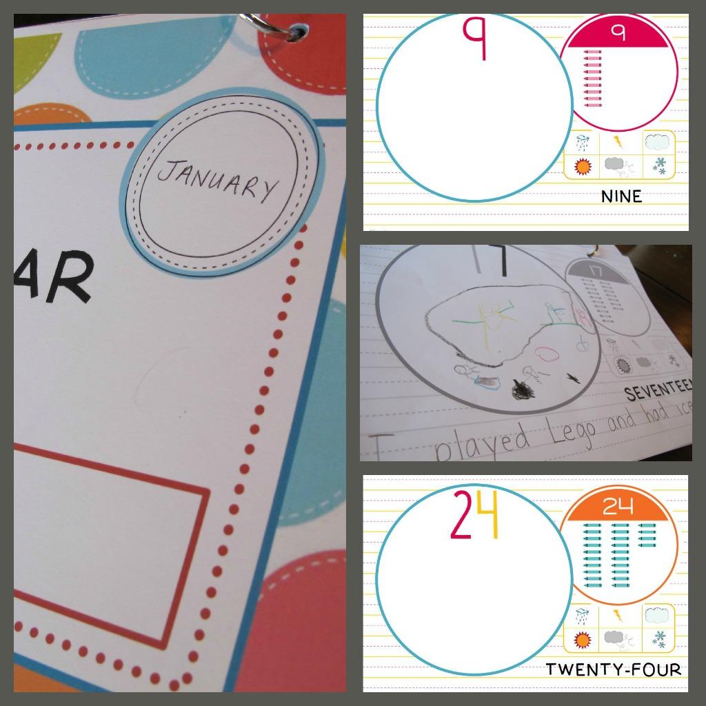 Kindergarten Calendar Journal : Prekandksharing spot