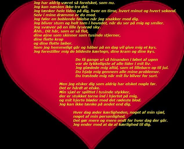 savner en kæreste digt Solrød