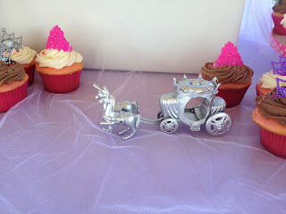 princess horse drawn carriage