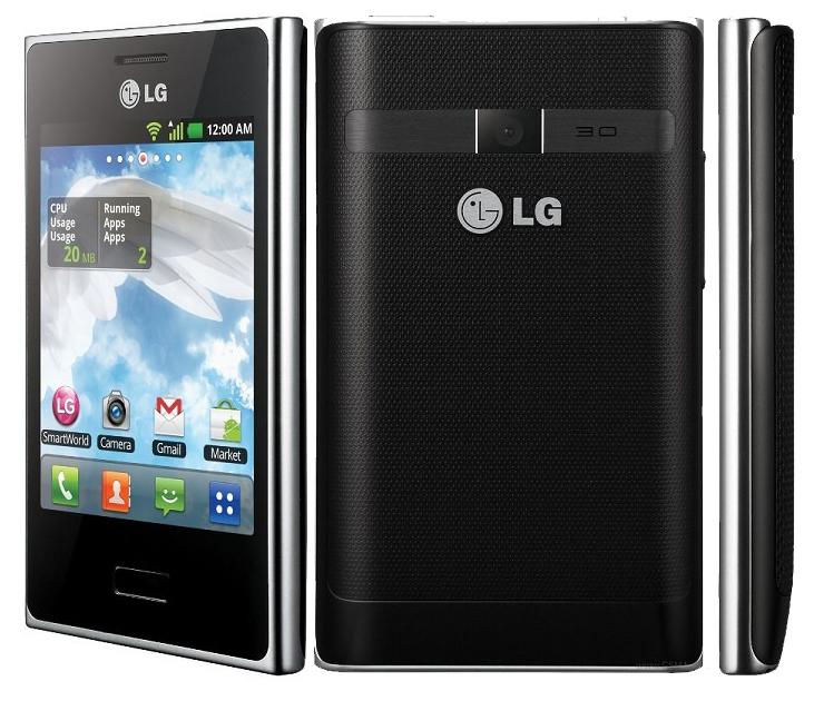 Spesifikasi Dan Harga Hp LG Optimus L3 E400 Lengkap