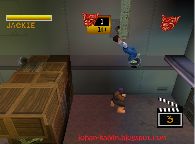 Jackie Chan Playstation Game Game Jackie Chan's