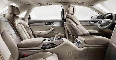 Audi A8L Chauffeur - bản đặc biệt cho người Nhật