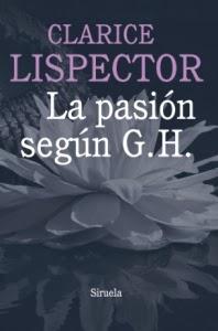 La pasión según G. H. - Portada