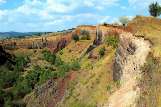 Extinct volcano in Racos- On the brink (eastern wall of the volcano)