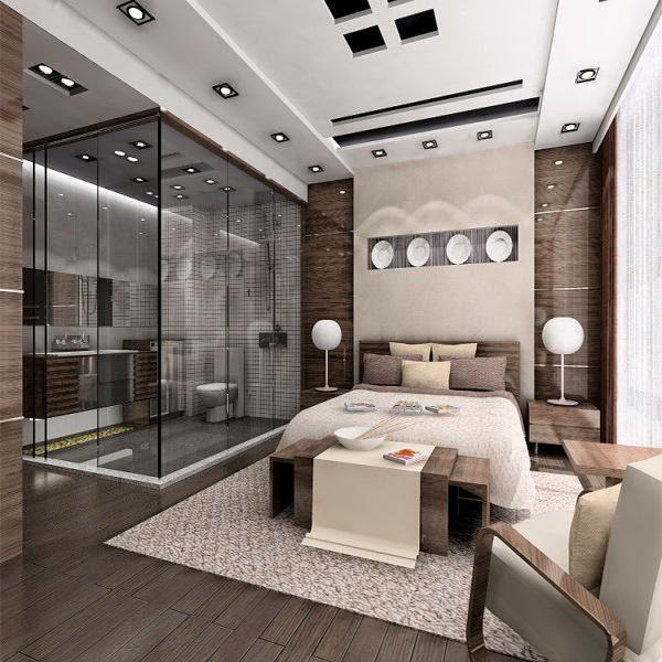 Diseños de dormitorios con baño - Dormitorios colores y estilos
