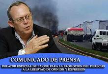 Comunicado de Prensa Frank