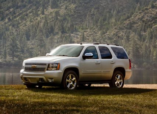 2014 Chevrolet Tahoe silver