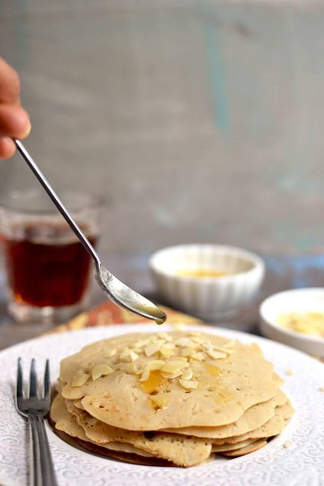 Moroccan Semolina Pancakes