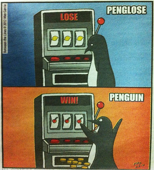 Penguin Joke win
