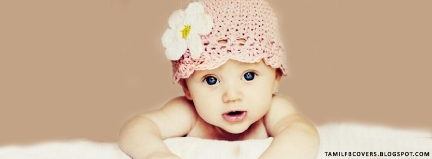 My India FB Covers: Very Cute Baby - Babies FB Cover