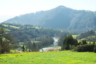 ruta del Nalón, vista del río