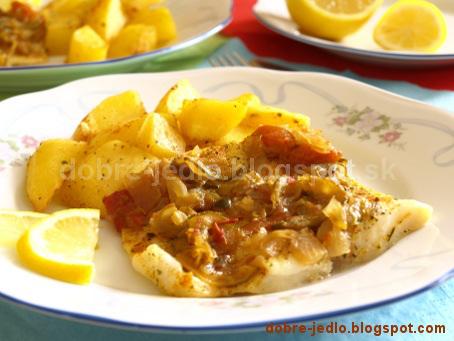 Zeleninová ryba - recepty