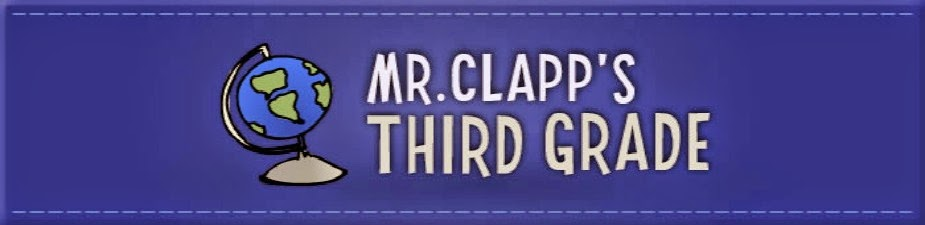 Mr. Clapp's Third Grade