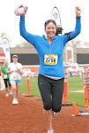 Suzanne's Finish Line Photo