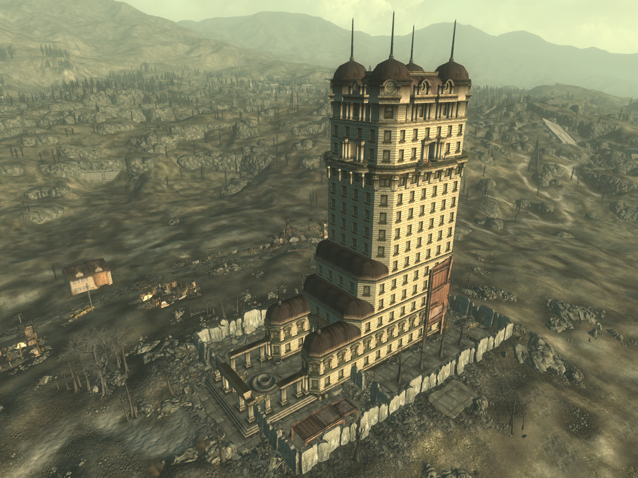 Fallout 3 cheats and tips locations for Entrance to rivet city