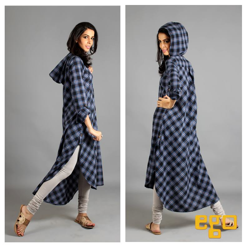 Pakistani Winter Casual Dresses for Girls