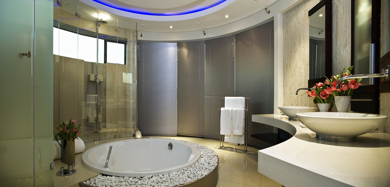 Contemporary Bathrooms South Africa world of architecture: huge modern home in hollywood stylenico