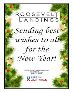 ROOSEVELT LANDINGS SENDING BEST WISHES FOR THE NEW YEAR