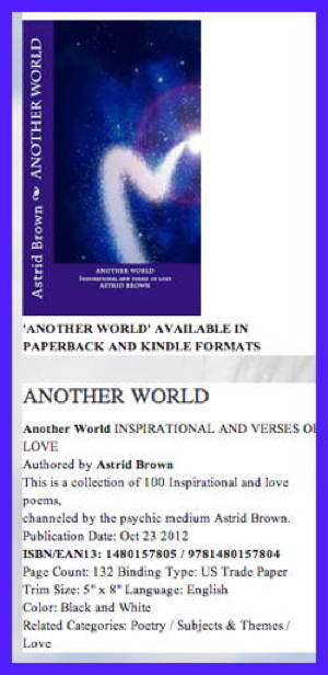 BOOK 'ANOTHER WORLD'