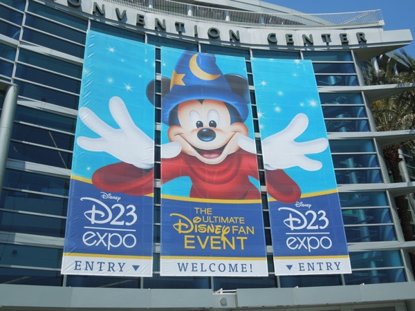 Disney D23 Expo 2013 Anaheim Convention Center