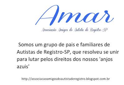 Apresentação sobre a Associação Amigos do Autista de Registro-SP
