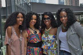 With My YT Sistas at Brunch in NYC July 2012