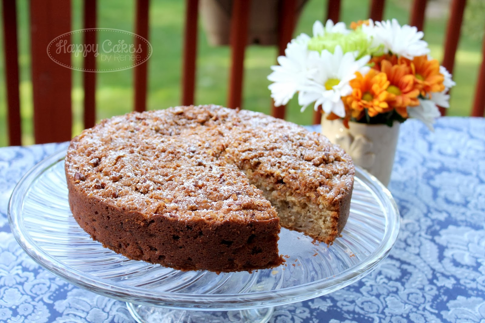 Happy Cakes Bakes: Apple Tea Cake Recipe!