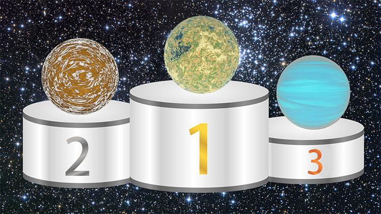 La Tierra ocupa el décimo puesto en la lista de habitabilidad.