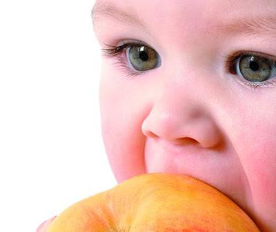 Que deben ingerir en sus primeros años y como una buena alimentación hace la