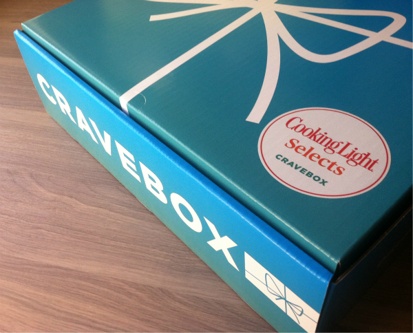 Cooking Light Cravebox Review - November 2012 - Monthly Food Subscription Boxes