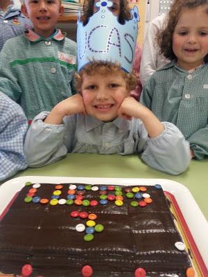 Lucas cumple 7 años
