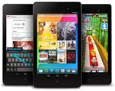 Nexus 10, Nexus 7 2013, Android 4.4.1, Android 4.4.1 KitKat, Android KitKat