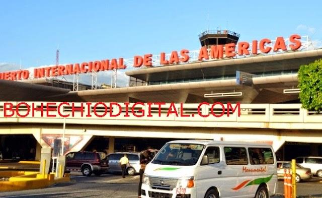 Arrestan 2 por amenaza de bomba en avión Aeropuerto las Américas