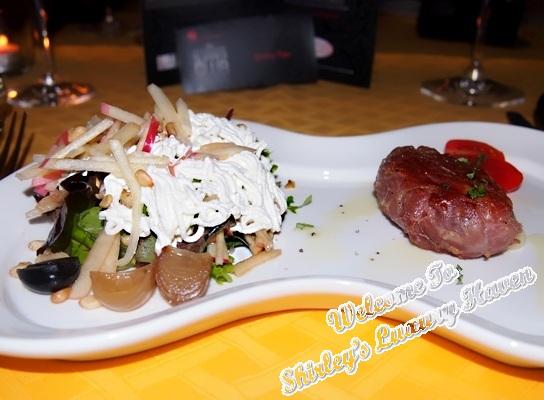 ristorante da valentino apple salad parma ham