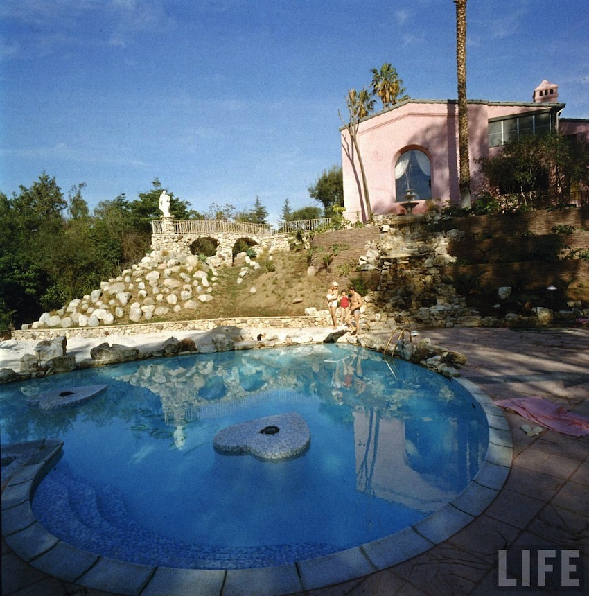 Jayne Mansfield House Magnificent Of Jayne Mansfield Pink House Images