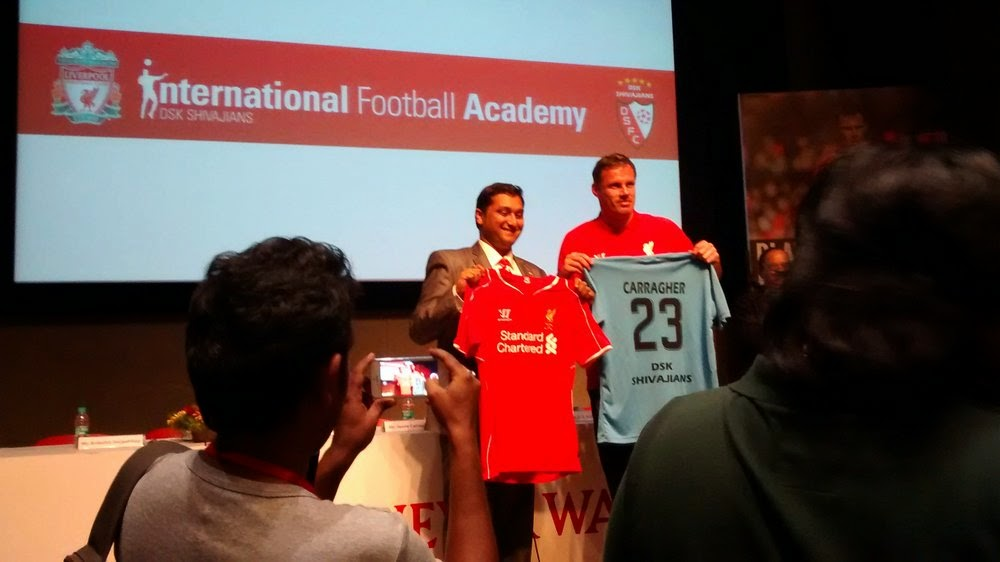 Liverpool FC-DSK Shivajians international football academy