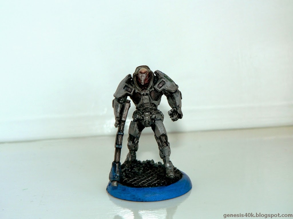 Armoured Chasseurs Squad Leader