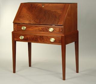 Fine Handmade Walnut Desk