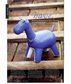 Zuny Limited Edition Humio the Horse bookend