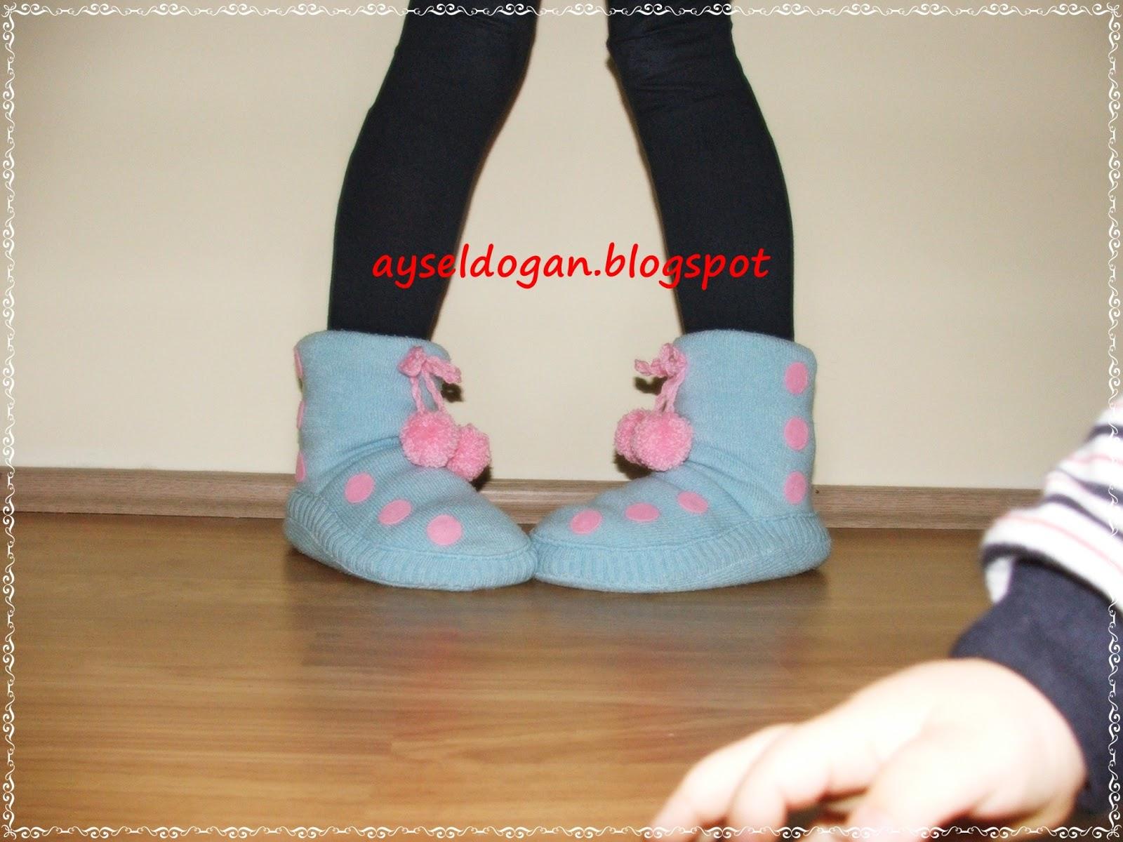 Eski Kazaktan Ev Ayakkabısı Yapımı