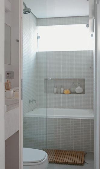 Casa da Anita Nichos em banheiros -> Nicho Banheiro Cerâmica