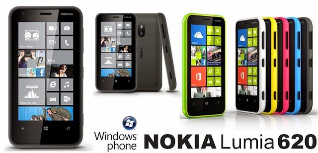 Harga Nokia Lumia 620 Terbaru dan Spesifikasi Lengkap