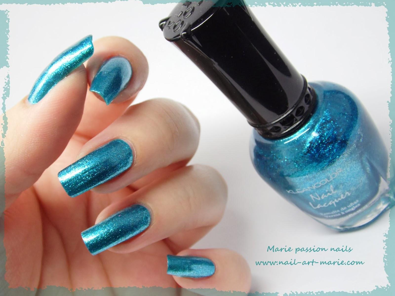 Kleancolor Metallic Aqua7