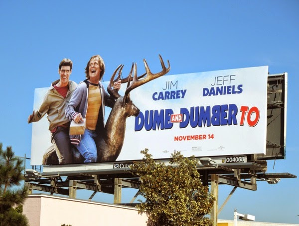 Dumb and Dumber To stag movie billboard